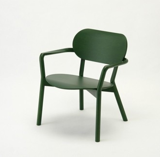 Castor chair low