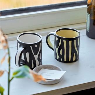 Wood mug